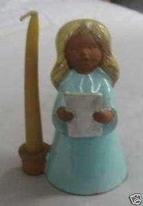 Goebel 1970 Germany blue angel figurine candle holder 5 & vintage