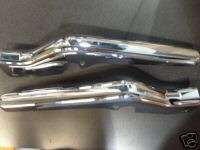 HARLEY DAVIDSON CHROME FRAME COVERS