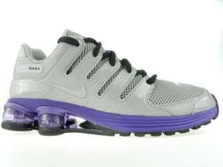 NIKE SHOX AIR LUNAR NZ NEW Mens Grey Purple $150 Running Shoes Size 10