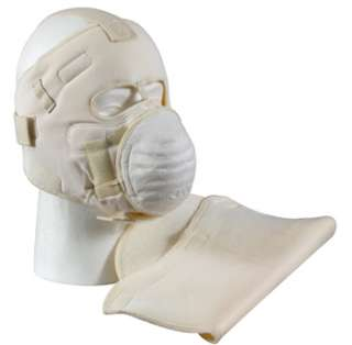 White Snow Extreme Cold Weather Adjustable Military Winter Face Mask