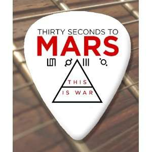30 Seconds To Mars War Premium Guitar Picks x 5 Medium