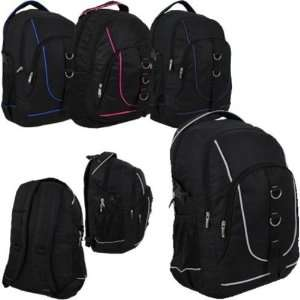 19 Beautiful Assorted Color Trim Stylish Backpack Case