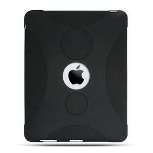 Apple iPad Premium Black Silicon Skin Case Cover