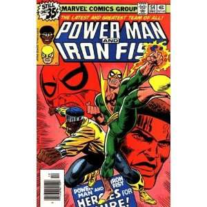 Power Man & Iron Fist, Edition# 54 Marvel  Books