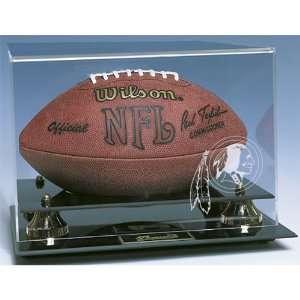 Washington Redskins NFL Deluxe Football Display Case