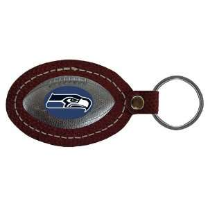 Seattle Seahawks NFL Football Key Tag (Leather) Sports