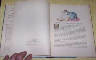 1937 BIBLE CHILDREN ILLUSTRATED PICTURE BOOK OLD STORY