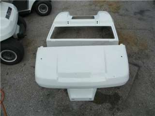 CLUB CAR GOLF CART NEW WHITE BODY With LIGHT KIT #CC WHITE Body Set