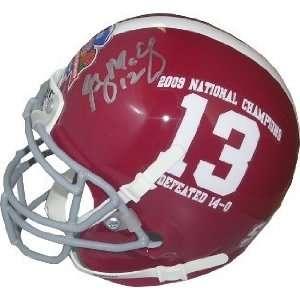Greg McElroy Autographed/Hand Signed Alabama Crimson Tide