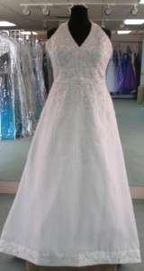 Orig $649 MORI LEE White Plus size 24 FORMAL BRIDAL GOWN WEDDING DRESS