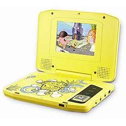 Power Spongebob Squarepants Portable DVD Player