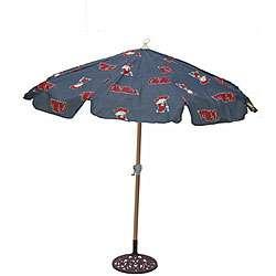 Ole Miss 7.5 foot College Logo Patio Umbrella