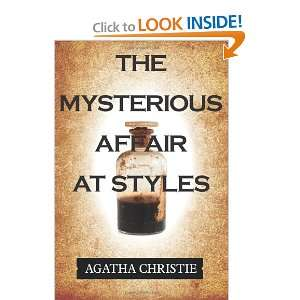 The Mysterious Affair at Styles (9781619493728) Agatha