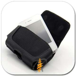 New Leather Case Pouch W Belt CLIP iPhone 4G 4th 4 Gen