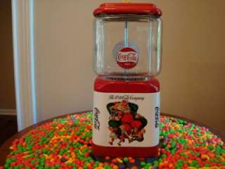 COCA COLA* Gumball Machine Arcade Game Sign Coin Op Soda Coke