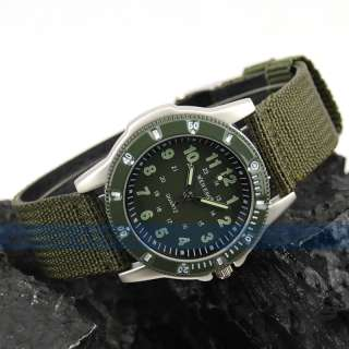 Men Dual Cores Military Army Outdoor Sports/Suits Watch