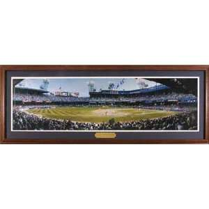Detroit Tigers Old Tiger Stadium Deluxe Framed Poster