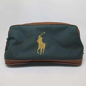 Ralph Lauren Polo Green Toiletry Bag