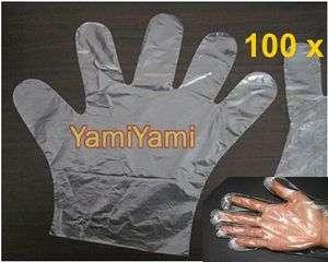 Disposable Plastic Glove Restaurant Home BBQ Cook Home Garden