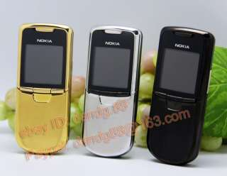 Nokia 8800 Mobile Cell Phone Tri band Unlocked Original Refurbished