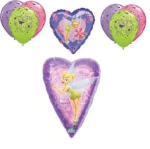 Disney fairy TINKERBELL birthday balloons princess kit