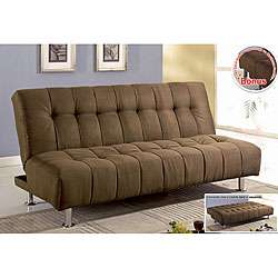 Microsuede Sofa Bed / Futon / Loveseat  Overstock