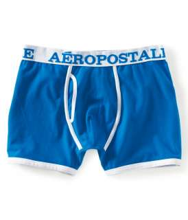 aeropostale mens solid knit boxer shorts