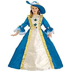 Girls Majestic Blue Princess Costume