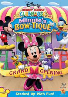 Mickey Mouse Clubhouse Minnies Bow tique (DVD)