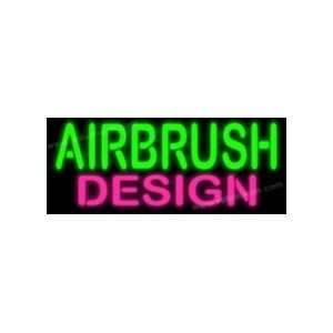Airbrush Design Neon Sign: Arts, Crafts & Sewing