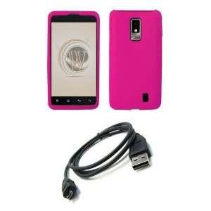 LG Spectrum (Verizon) Premium Combo Pack   Hot Pink