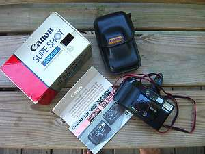 Canon SureShot Supreme Auto Focus 35mm Camera