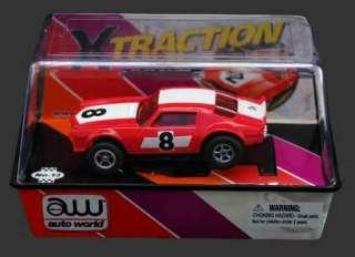 AW 71 Racing Camaro Red HO Slot Car