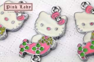 22 Cute Kitty Mermaid Charms Pendants Wholesale (3 pcs)