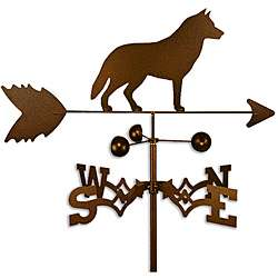 Handmade Siberian Husky Dog Copper Weathervane