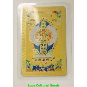 Feng Shui Thousand Hand Guan Yin Lucky Protection Card