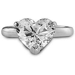 1ct TDW Heart shape Diamond Engagement Ring (E, SI1)