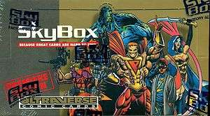 1993 SKYBOX ULTRAVERSE COMIC CARDS F/S WAX BOX 36 PACKS