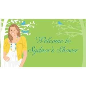 1025B Spring Baby Shower Banner
