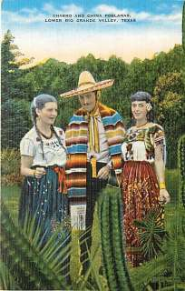 TX RIO GRANDE VALLEY CHARRO & CHINA POBLANAS MEXICAN COSTUME R57453