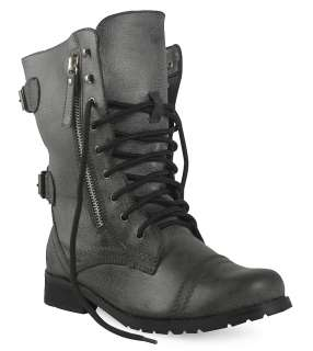 NEW LADIES COMBAT MILITARY ARMY WORKER BOOTS SIZES 3 8
