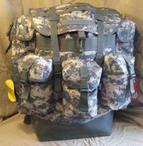 MILITARY ALICE FIELD PACK MODERN ACU ARMY MARINE CORP XLarge 900