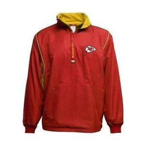 Kansas City Chiefs Red/Yellow Move Up Reversible Jacket