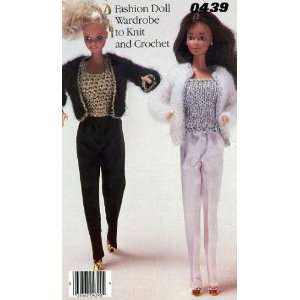 Fashion Doll Wardrobe to Knit and Crochet (0439) various