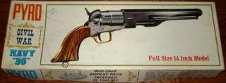 Pyro 11 Civil War Navy 36 Gun Model Kit #G208