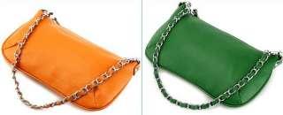 Genuine Leather Sling Purse Bag Handbag Satchel 8 color