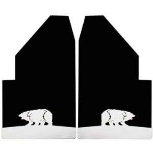Action Accessories 1076 6 Universal Fit Rear Bear Mud Flap   2 Piece