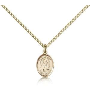 IceCarats Designer Jewelry Gift Gold Filled St. Isidore Of Seville