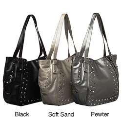 Nine West Starla Large Studded Shopper Bag