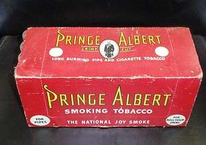 PRINCE ALBERT TOBACCO TINS (12 CANS) (CASE)